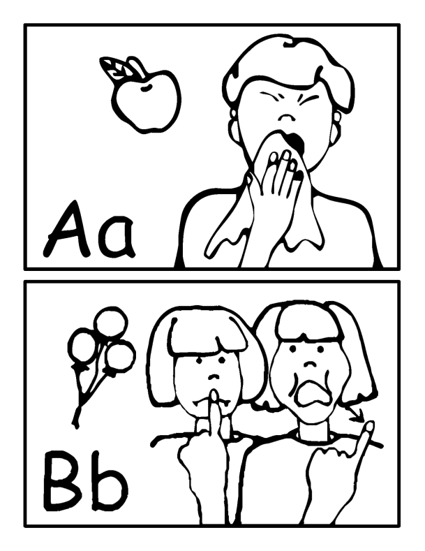 Alphabet Cards for the Wall​Thumbnail